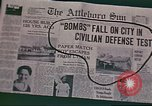 Image of air raid warning United States USA, 1942, second 42 stock footage video 65675062908