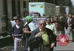 Image of New York City garment district 1970s New York City USA, 1978, second 1 stock footage video 65675062910