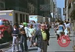 Image of New York City garment district 1970s New York City USA, 1978, second 2 stock footage video 65675062910