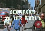 Image of New York City garment district 1970s New York City USA, 1978, second 5 stock footage video 65675062910