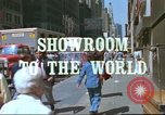 Image of New York City garment district 1970s New York City USA, 1978, second 6 stock footage video 65675062910