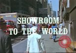 Image of New York City garment district 1970s New York City USA, 1978, second 8 stock footage video 65675062910