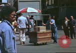 Image of New York City garment district 1970s New York City USA, 1978, second 16 stock footage video 65675062910