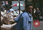 Image of New York City garment district 1970s New York City USA, 1978, second 18 stock footage video 65675062910