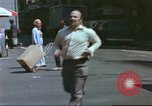 Image of New York City garment district 1970s New York City USA, 1978, second 26 stock footage video 65675062910