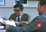 Image of trade show of American goods in Paris United States USA, 1978, second 23 stock footage video 65675062911