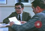 Image of trade show of American goods in Paris United States USA, 1978, second 30 stock footage video 65675062911