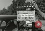 Image of taxicab driver Berlin Germany, 1959, second 6 stock footage video 65675062920