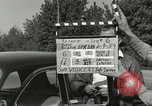 Image of taxicab driver Berlin Germany, 1959, second 8 stock footage video 65675062920