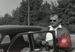 Image of taxicab driver Berlin Germany, 1959, second 10 stock footage video 65675062920
