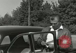 Image of taxicab driver Berlin Germany, 1959, second 11 stock footage video 65675062920