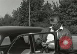 Image of taxicab driver Berlin Germany, 1959, second 12 stock footage video 65675062920