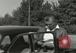 Image of taxicab driver Berlin Germany, 1959, second 13 stock footage video 65675062920