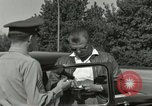 Image of taxicab driver Berlin Germany, 1959, second 14 stock footage video 65675062920
