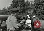 Image of taxicab driver Berlin Germany, 1959, second 15 stock footage video 65675062920
