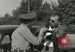 Image of taxicab driver Berlin Germany, 1959, second 18 stock footage video 65675062920