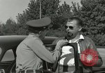 Image of taxicab driver Berlin Germany, 1959, second 19 stock footage video 65675062920