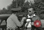 Image of taxicab driver Berlin Germany, 1959, second 23 stock footage video 65675062920