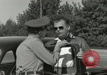 Image of taxicab driver Berlin Germany, 1959, second 29 stock footage video 65675062920