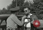 Image of taxicab driver Berlin Germany, 1959, second 32 stock footage video 65675062920