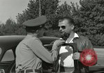 Image of taxicab driver Berlin Germany, 1959, second 36 stock footage video 65675062920