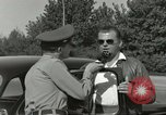 Image of taxicab driver Berlin Germany, 1959, second 37 stock footage video 65675062920