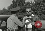 Image of taxicab driver Berlin Germany, 1959, second 38 stock footage video 65675062920