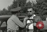 Image of taxicab driver Berlin Germany, 1959, second 39 stock footage video 65675062920