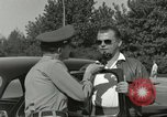 Image of taxicab driver Berlin Germany, 1959, second 40 stock footage video 65675062920