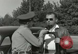 Image of taxicab driver Berlin Germany, 1959, second 41 stock footage video 65675062920
