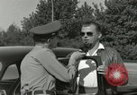 Image of taxicab driver Berlin Germany, 1959, second 42 stock footage video 65675062920