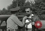 Image of taxicab driver Berlin Germany, 1959, second 44 stock footage video 65675062920