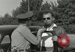 Image of taxicab driver Berlin Germany, 1959, second 48 stock footage video 65675062920