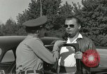 Image of taxicab driver Berlin Germany, 1959, second 50 stock footage video 65675062920