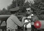 Image of taxicab driver Berlin Germany, 1959, second 52 stock footage video 65675062920
