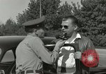 Image of taxicab driver Berlin Germany, 1959, second 55 stock footage video 65675062920