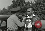 Image of taxicab driver Berlin Germany, 1959, second 57 stock footage video 65675062920