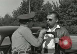 Image of taxicab driver Berlin Germany, 1959, second 58 stock footage video 65675062920