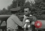 Image of taxicab driver Berlin Germany, 1959, second 59 stock footage video 65675062920