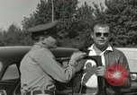 Image of taxicab driver Berlin Germany, 1959, second 61 stock footage video 65675062920