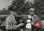 Image of taxicab driver Berlin Germany, 1959, second 62 stock footage video 65675062920