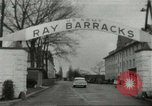 Image of Elvis Presley discharged from Army Friedberg Germany, 1960, second 1 stock footage video 65675062926