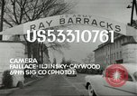 Image of Elvis Presley discharged from Army Friedberg Germany, 1960, second 2 stock footage video 65675062926