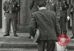 Image of Elvis Presley discharged from Army Friedberg Germany, 1960, second 20 stock footage video 65675062926