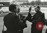 Image of Elvis Presley discharged from Army Friedberg Germany, 1960, second 24 stock footage video 65675062926