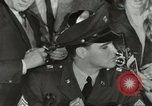 Image of Elvis Presley discharged from Army Friedberg Germany, 1960, second 34 stock footage video 65675062926