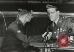 Image of Elvis Presley discharged from Army Friedberg Germany, 1960, second 51 stock footage video 65675062926