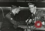 Image of Elvis Presley discharged from Army Friedberg Germany, 1960, second 52 stock footage video 65675062926