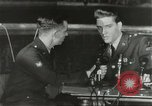 Image of Elvis Presley discharged from Army Friedberg Germany, 1960, second 53 stock footage video 65675062926