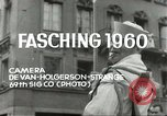 Image of Fasching parade Munich Germany, 1960, second 4 stock footage video 65675062928
